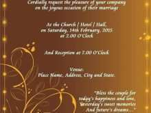 99 Best Example Of Invitation Card For Wedding Layouts for Example Of Invitation Card For Wedding