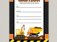 99 Creating Birthday Invitation Templates Construction Download by Birthday Invitation Templates Construction