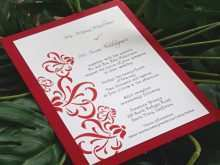 99 Report Wedding Invitation Templates Red And White PSD File by Wedding Invitation Templates Red And White