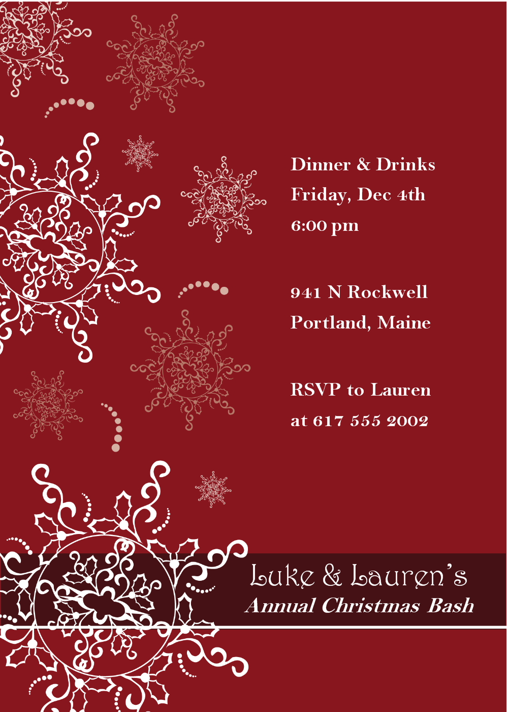 99 Visiting Annual Holiday Party Invitation Template Formating by Annual Holiday Party Invitation Template