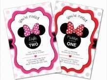 11 Create Birthday Invitation Template Minnie Mouse Download with Birthday Invitation Template Minnie Mouse