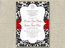 11 Create Wedding Invitation Template Black And White Now with Wedding Invitation Template Black And White