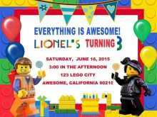 11 Customize Our Free Lego Birthday Party Invitation Template Download by Lego Birthday Party Invitation Template