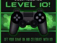 11 Format Video Game Party Invitation Template in Photoshop for Video Game Party Invitation Template