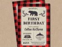 11 Free Lumberjack Birthday Invitation Template Photo by Lumberjack Birthday Invitation Template