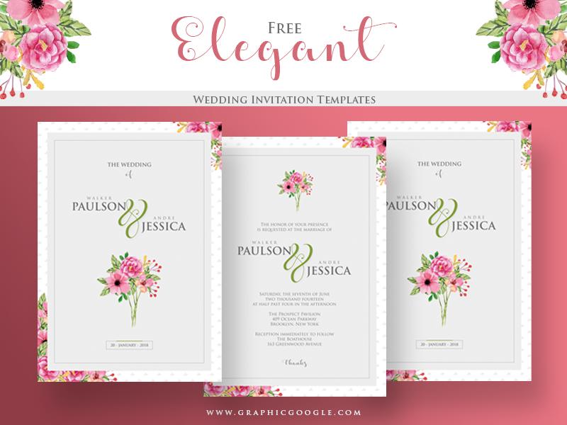 11 How To Create Elegant Wedding Invitation Designs Free in Photoshop by Elegant Wedding Invitation Designs Free