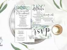 11 Report Wedding Invitation Template Eucalyptus Now for Wedding Invitation Template Eucalyptus