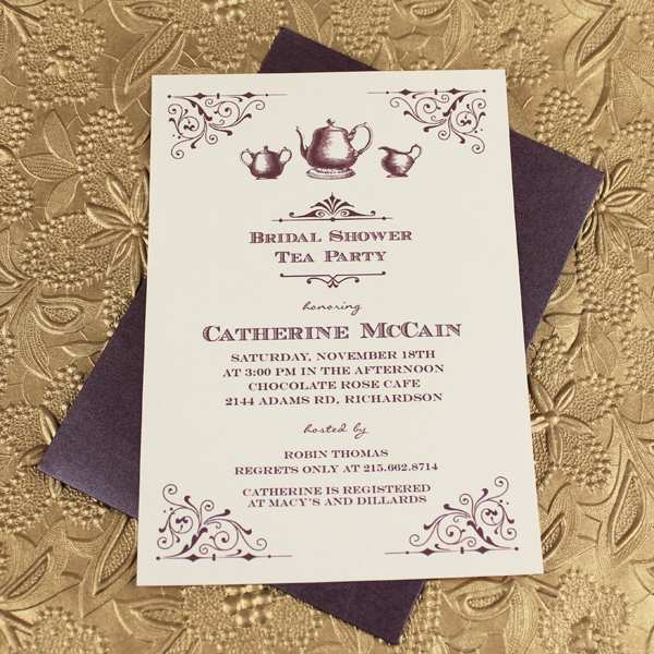 12 Adding Afternoon Tea Party Invitation Template Download by Afternoon Tea Party Invitation Template