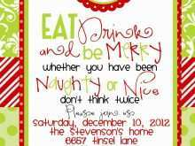 12 Best Christmas Party Invitation Template Download Layouts by Christmas Party Invitation Template Download