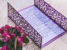 Wedding Invitation Template Ai