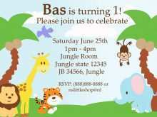 12 Customize Safari Birthday Invitation Template Free Photo by Safari Birthday Invitation Template Free