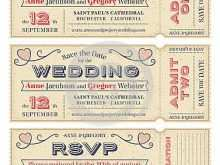 12 Format Wedding Invitation Ticket Template Vector Free Download Formating with Wedding Invitation Ticket Template Vector Free Download