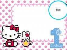 13 Best Hello Kitty Blank Invitation Template Formating by Hello Kitty Blank Invitation Template