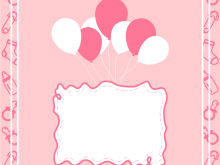 Birthday Invitation Template Baby Girl
