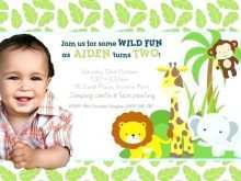 13 Customize Our Free Jungle Party Invitation Template for Ms Word by Jungle Party Invitation Template