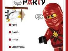 Lego Party Invitation Template Free