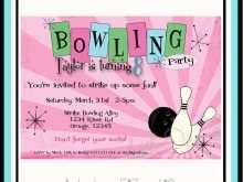 13 Free Printable Bowling Party Invitation Template Free Download for Bowling Party Invitation Template Free