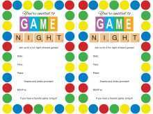13 Standard Game Night Party Invitation Template Photo for Game Night Party Invitation Template