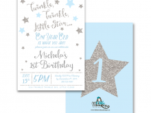 13 Standard Twinkle Twinkle Little Star Birthday Invitation Template Free Maker by Twinkle Twinkle Little Star Birthday Invitation Template Free
