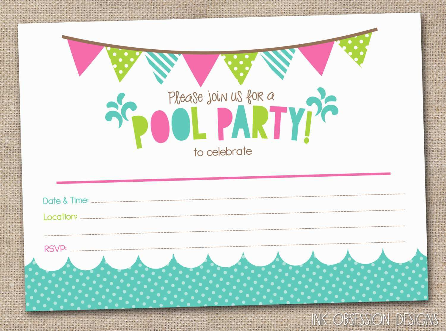 5 The Best Birthday Invitation Templates For 5 Year Old for Ms