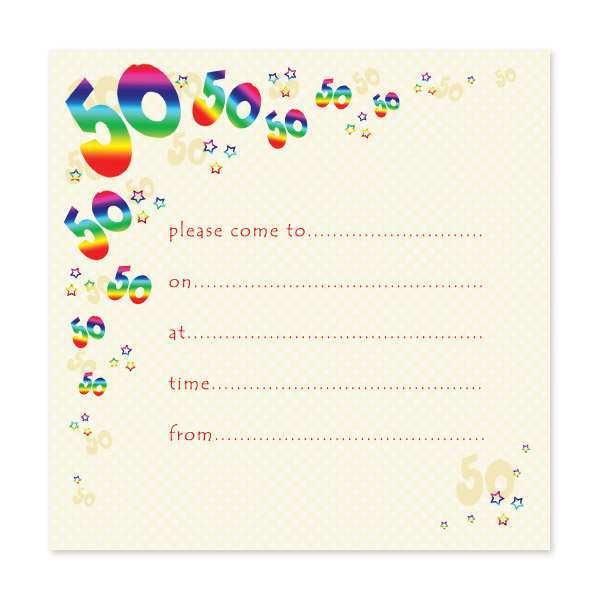 13 Visiting 50Th Birthday Invite Templates Uk Templates by 50Th Birthday Invite Templates Uk