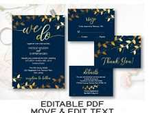 13 Visiting Royal Blue Wedding Invitation Template For Free with Royal Blue Wedding Invitation Template