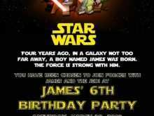14 Adding Birthday Invitation Template Star Wars Maker with Birthday Invitation Template Star Wars