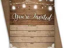 14 Adding Rustic Birthday Invitation Template Layouts by Rustic Birthday Invitation Template