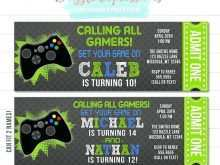14 Best Video Game Party Invitation Template Download for Video Game Party Invitation Template