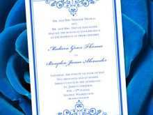 14 Create Royal Blue Wedding Invitation Template Download with Royal Blue Wedding Invitation Template