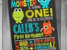 14 Customize Our Free Monster Birthday Invitation Template Maker by Monster Birthday Invitation Template