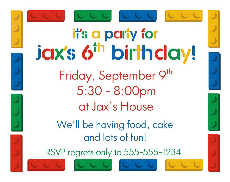 14 Format Birthday Party Invitation Template Boy With Stunning Design with Birthday Party Invitation Template Boy