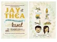 Example Ng Invitation Card Tagalog