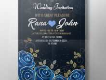 14 How To Create Royal Blue Wedding Invitation Template in Photoshop with Royal Blue Wedding Invitation Template