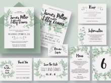 14 Online Wedding Invitation Template Eucalyptus for Ms Word for Wedding Invitation Template Eucalyptus