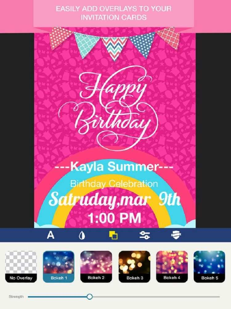 14 Printable Party Invitation Card Maker App PSD File by Party Invitation Card Maker App