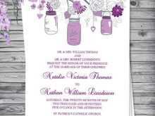 14 Printable Wedding Invitation Templates Violet Now by Wedding Invitation Templates Violet