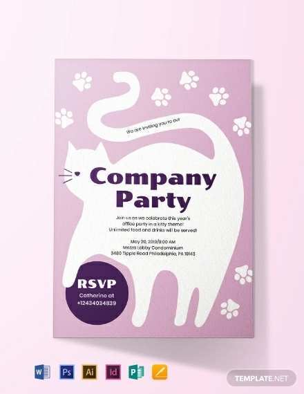 14 The Best Kitty Party Invitation Template Layouts with Kitty Party Invitation Template