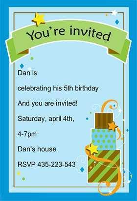 15 Best Birthday Invitation Template For Boy PSD File with Birthday Invitation Template For Boy