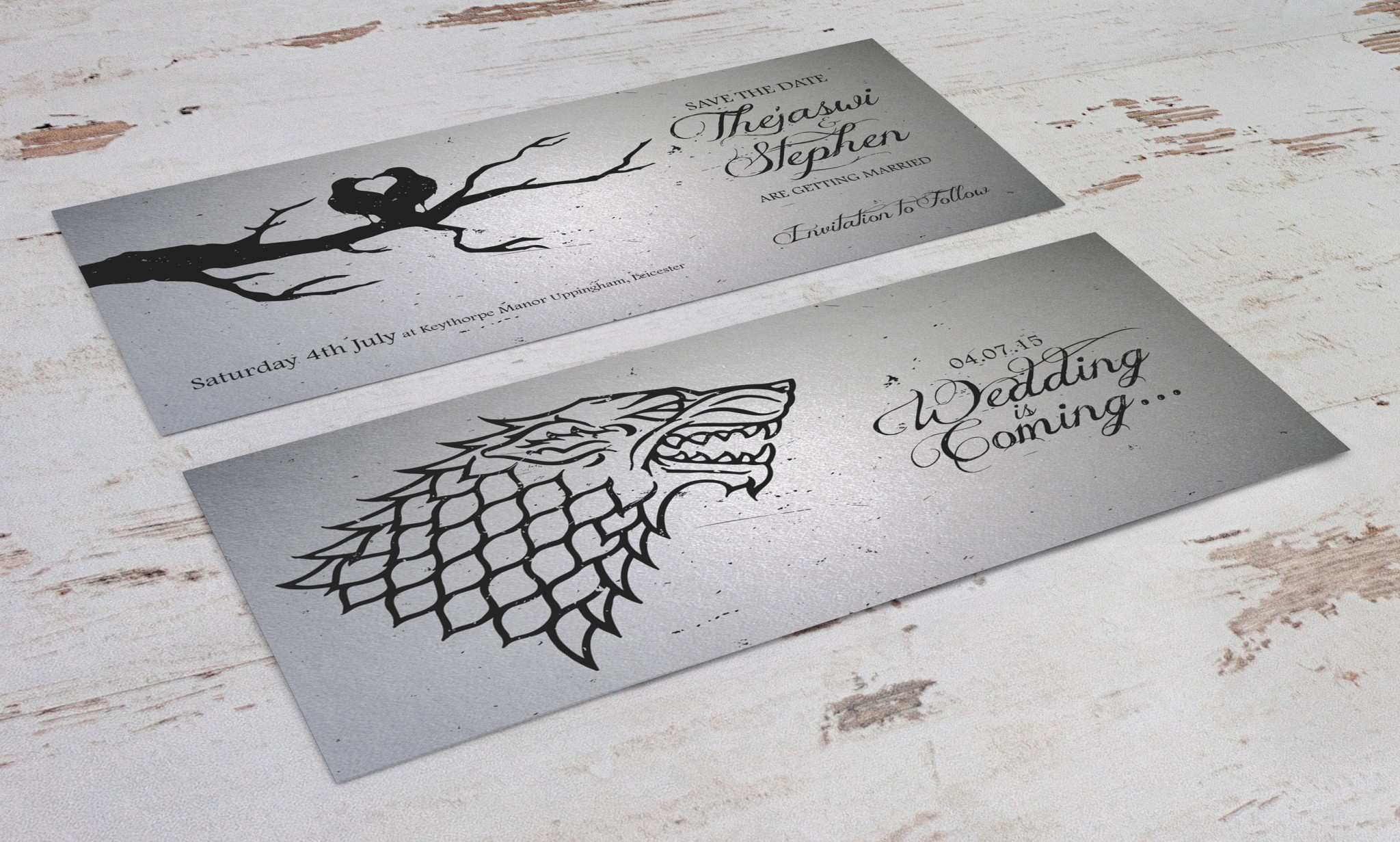 4 Best Game Of Thrones Wedding Invitation Template For Free with