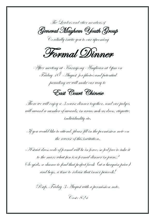 15 Blank Formal Event Invitation Template For Free by Formal Event Invitation Template