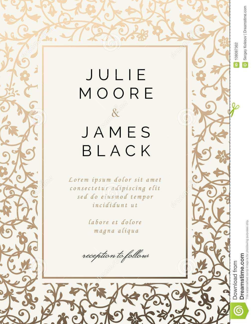 15 Blank Vintage Wedding Invitation Template Free Psd File By Vintage Wedding Invitation Template Free Cards Design Templates