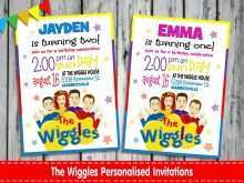 15 Free Wiggles Birthday Invitation Template With Stunning Design by Wiggles Birthday Invitation Template