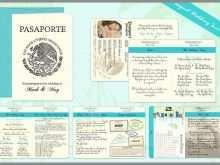 15 Printable Passport Wedding Invitation Template Uk Now with Passport Wedding Invitation Template Uk