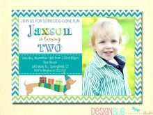 15 Report 2 Year Old Birthday Invitation Template PSD File with 2 Year Old Birthday Invitation Template