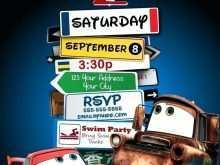 15 Standard Cars Birthday Invitation Template in Word with Cars Birthday Invitation Template
