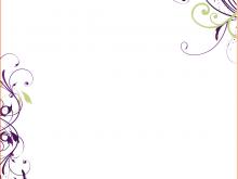 15 The Best Blank Birthday Invitation Templates For Microsoft Word Templates with Blank Birthday Invitation Templates For Microsoft Word