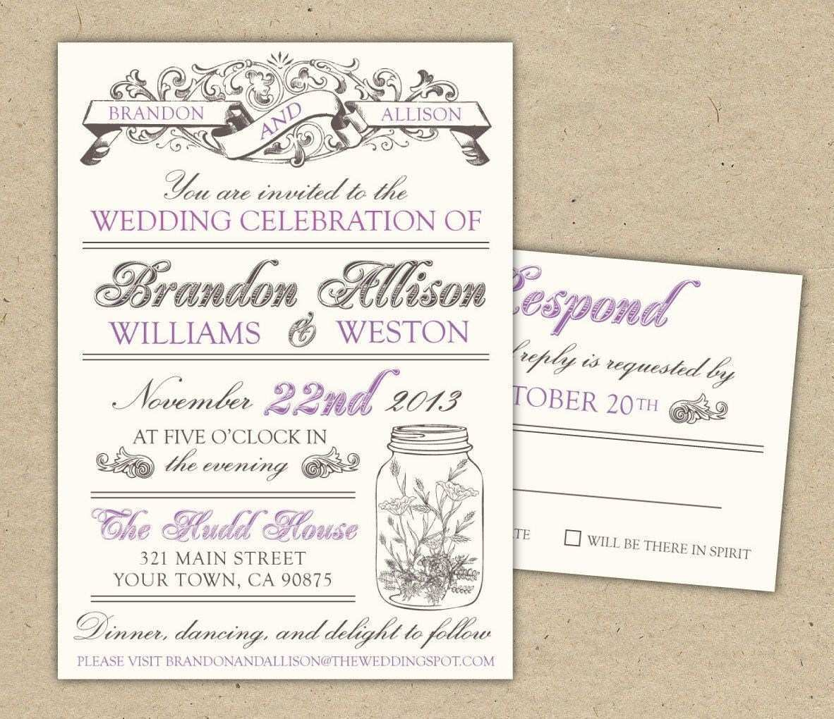 16 Adding Wedding Invitation Template Download And Print PSD File with Wedding Invitation Template Download And Print