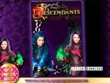 16 Creating Descendants Party Invitation Template For Free by Descendants Party Invitation Template