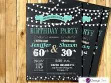 16 Customize Our Free Joint Birthday Party Invitation Template Maker for Joint Birthday Party Invitation Template